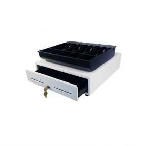 330 compact white cash drawer