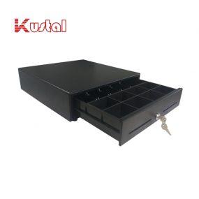 matte black metal cash drawer